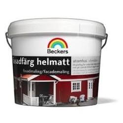 Perfekt oliemaling 3 liter falurød/svenskrød